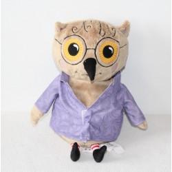 Plush OWL IKEA Kattuggla purple brown 35 cm