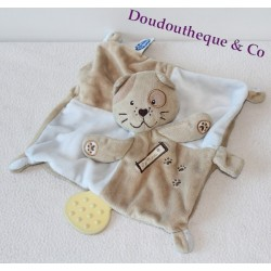 Cats flat comforter MOTS D'ENFANTS brown