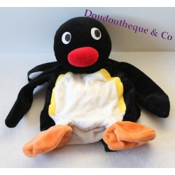 Plush Penguin Pingu backpack 40 cm