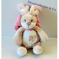 Doudou lapin NOUKIE'S collection Oscarine et Léontine 18cm