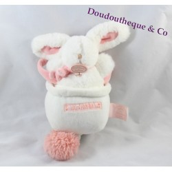 Musical plush rabbit DOUDOU ET COMPAGNIE Pink
