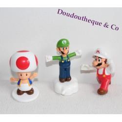 Lot figurines Mario NINTENDO MC DO HAPPY MEAL luigi mario toad 2016