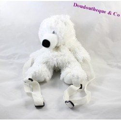 Backpack stuffed Pooh bear SANDY white 28 cm