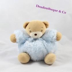 Doudou Ours KALOO fur fourrure bleu ciel 15 cm