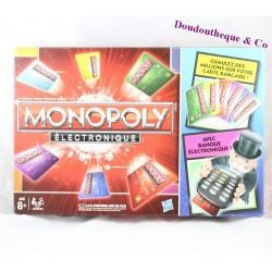 Jeu de société Monopoly Electronique HASBRO boîte rouge Complet
