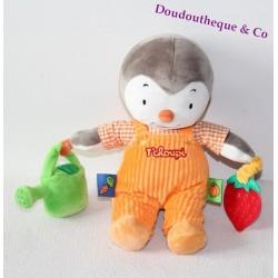 Plush you Charlie NICOTOY watering Strawberry overalls orange 25 cm