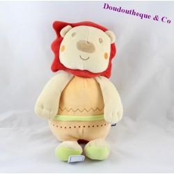 Plush lion candy CANE orange 30 cm