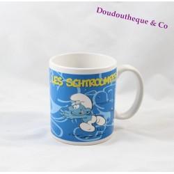 Mug céramique Les Schtroumpfs JACQUOT Chocolatier tasse 10 cm