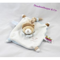 Bear flat comforter DOUDOU AND COMPANY Tatoo