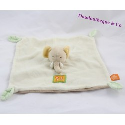 Doudou flat beige MOULIN ROTY the baby elephant sheet 25 cm