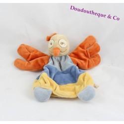 Doudou marionnette Autruche NOUKIE'S Collection Australia oiseau
