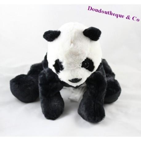 stuffed panda ikea white black kramig 30 cm sos blanket. Black Bedroom Furniture Sets. Home Design Ideas