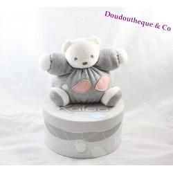 KALOO Zen bear blankie knitted pink p birds ' little coral 18 cm Pooh