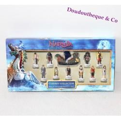 Coffret collector fèves Le Monde de Narnia 11 fèves en porcelaine