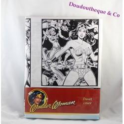 Parure de lit housse de couette Wonder Woman DC COMICS 140 x 200 cm