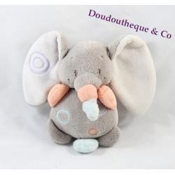 Doudou musical Elephant NATTOU bubbles 15cm