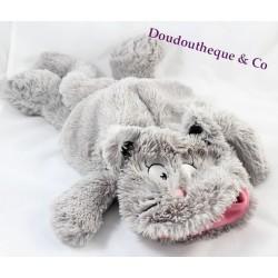 Peluche Chat Gris et blanc ETAM Range Pyjama ou bouillotte