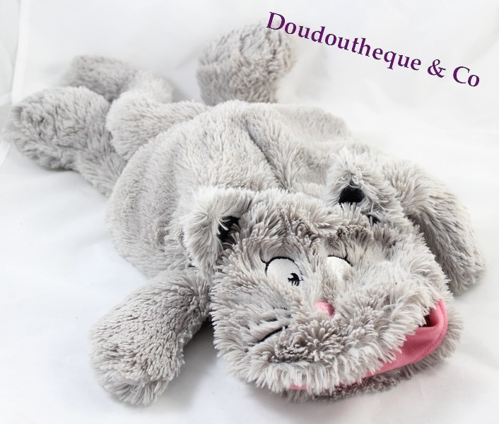 peluche chat etam range pyjama doudou bouillotte 44 cm sos doudou. Black Bedroom Furniture Sets. Home Design Ideas