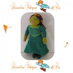 Peluche princesse  Fiona PLAY BY PLAY Shrek 2 robe verte 30 cm