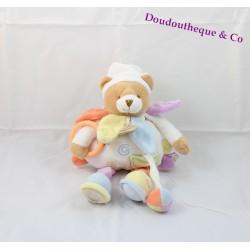 Activity bear comforter DOUDOU ET COMPAGNIE Nuage de couleurs