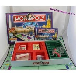 Jeu de société Monopoly HASBRO édition de Marseille Complet