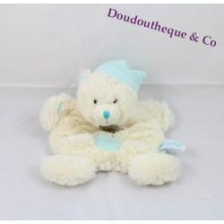 Teddy bear BABY blue white NAT Pooh cross belly hugs