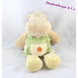 Peluche hippopotame Hippoum NOUKIE'S peluche a habiller 35 cm Hippoum Baboum et Zamba