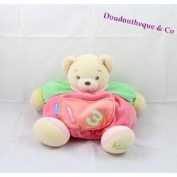 Bears Doudou KALOO collection 1.2.3 Pocket embroidered 30 cm