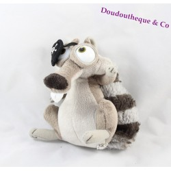 Plush Scrat pirate squirrel ice age 4 the drift of continents 17 cm