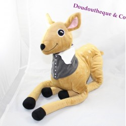 Plush doe IKEA brown Sötnos task vest forest animals 60 cm