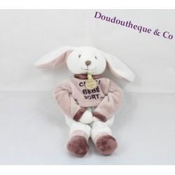 Rabbit comforter DOUDOU ET COMPAGNIE Chut bébé dort