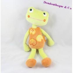 Doudou grenouille MARESE 28 cm