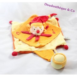 Blankie flat clown DOUDOU and company do re MI FA drum Orange