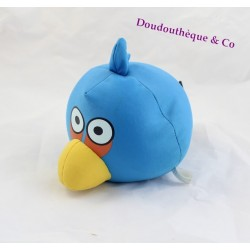 Peluche balle Angry Birds ELF oiseau bleu microbilles 25 cm