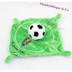Doudou plat Ballon de foot ANTILIA COMME PAPA Sochaux-Montbéliard