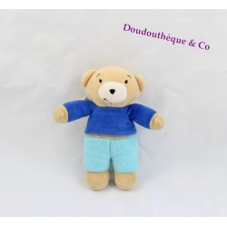 Teddy bear AJENA Teddy you Charlie doudou to you Charlie 15 cm