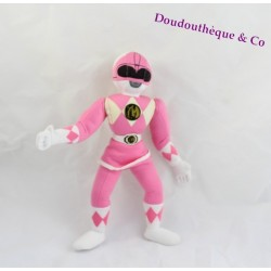 Poupée Tissu KID DIMENSION Power Rangers Force Rose 31 Cm 1994