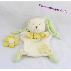 Doudou Marionnette Lapin Et Sa Fleur DOUDOU ET COMPAGNIE