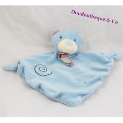 BABY CLUB C&A blue bear comforter