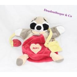 Doudou marionnette Cerf et son bébé DOUDOU ET COMPAGNIE