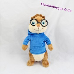 Peluche Simon GIPSY Alvin et les Chipmunks sweat bleu 20 cm