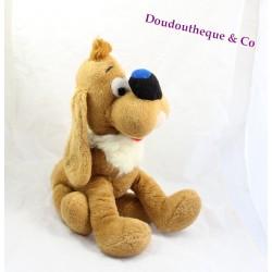 Peluche Bill chien NOUNOURS Boule et Bill vintage 40 cm