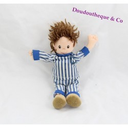 Petite poupée Nicolas JEMINI C-J-B LAYDU Bonne nuit les petits 19 cm