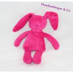 Don semi flat Grain of wheat rabbit pink fushia 30 cm