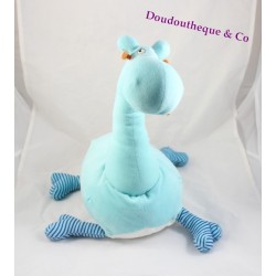Plush dinosaur IKEA blue orange striped legs Giraffe 45 cm