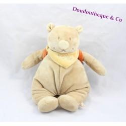 Doudou musical Nouky ours NOUKIE'S Australia sac à dos autruche 26 cm