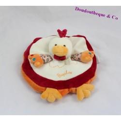 Semi flat comforter hen DOUDOU AND COMPANY Poupilou