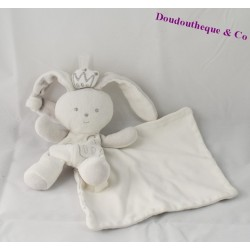 Doudou Rabbit King BERLINGOT handkerchief