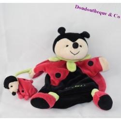 Doudou marionnette coccinelle DOUDOU ET COMPAGNIE Lady Cocci 25 cm
