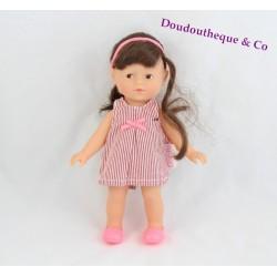 Mini Poupée Corolline COROLLE Pop édition limitée robe rayée rouge 20 cm